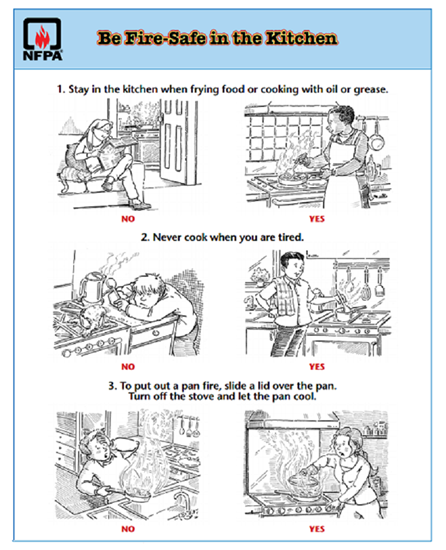 Cooking Safety Tips